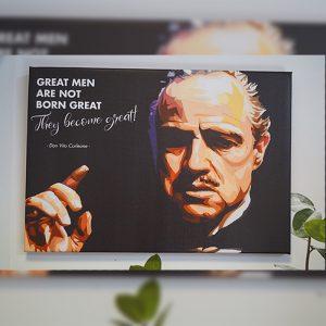 Tablou Canvas Don Corleone 2
