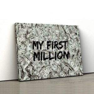 tablou canvas my first million