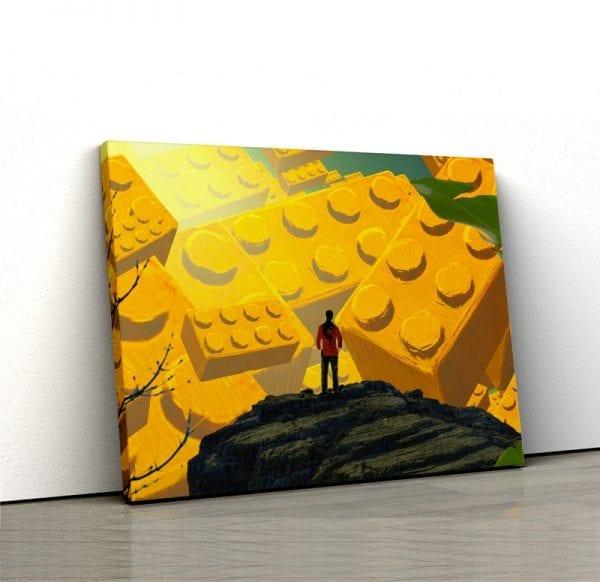 tablou canvas landscape main 99