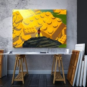 tablou canvas landscape mare birou 99
