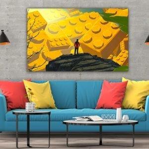 tablou canvas mare landscape camera 99
