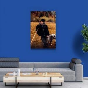 tablou canvas portret camera 65