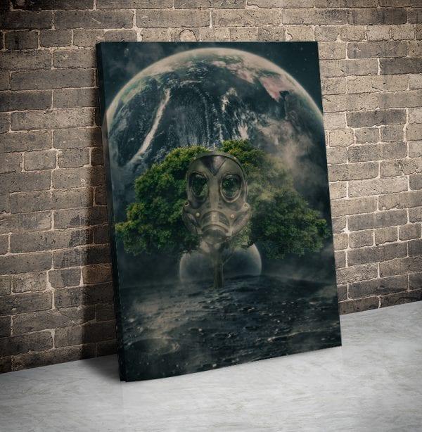 tablou canvas portret main 48