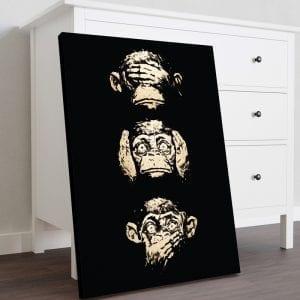 tablou canvas portret mediu mobila