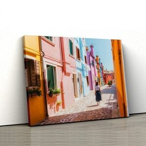 1 tablou canvas Burano Venezia