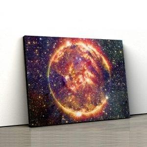 1 tablou canvas Planeta de foc
