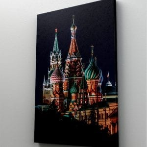 1 tablou canvas Red Square Moscow