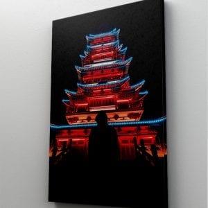 1 tablou canvas Temple Shadow