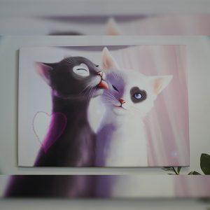 Tablou canvas cats art