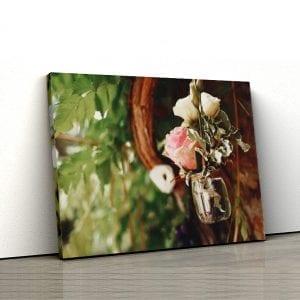Tablou canvas floral Trandafir 1