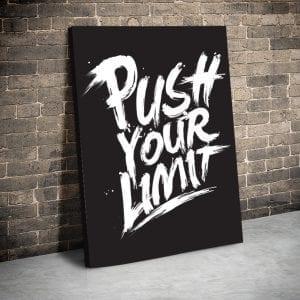 Tablou canvas motivational Limit 1