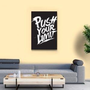 Tablou canvas motivational Limit 3