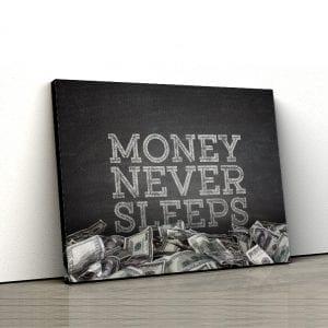 Tablou canvas motivational Money 1