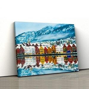 tablou canvas landscape main 11