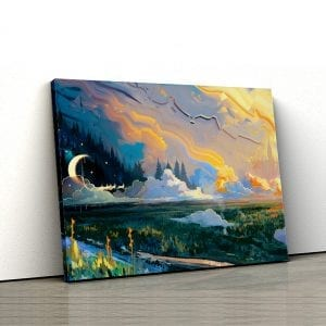 tablou canvas landscape main 38