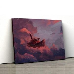 tablou canvas landscape main 46