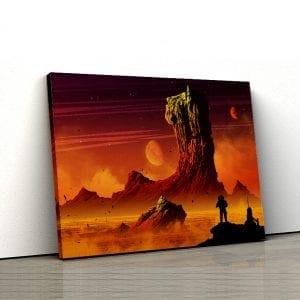 tablou canvas landscape main 48