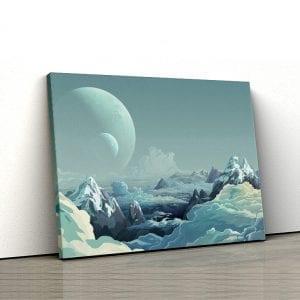 tablou canvas landscape main 50