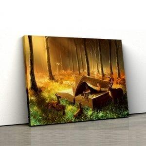 tablou canvas landscape main 54
