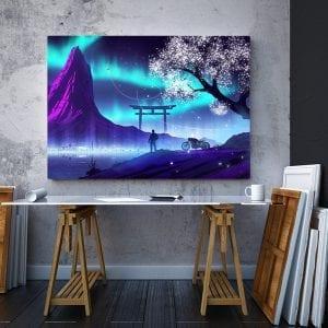 tablou canvas landscape mare birou 63
