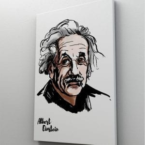 1 tablou canvas Albert Einstein