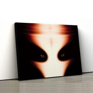 1 tablou canvas Alien face