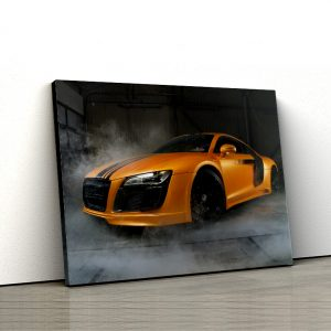 1 tablou canvas Audi R8 V10