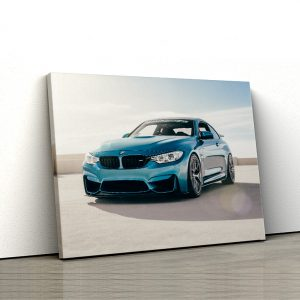 1 tablou canvas BMW M4 F82 in parcare