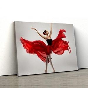 1 tablou canvas Dancing ballerina