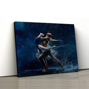 1 tablou canvas Dancing in the rain