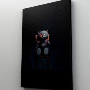 1 tablou canvas Evil Teddy Bear
