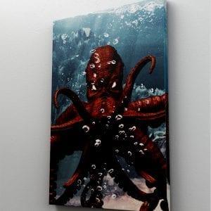 1 tablou canvas Evil octopus