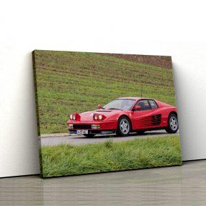 1 tablou canvas Ferrari Testarossa