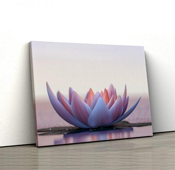 1 tablou canvas Floare de Lotus