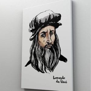 1 tablou canvas Leonardo daVinci