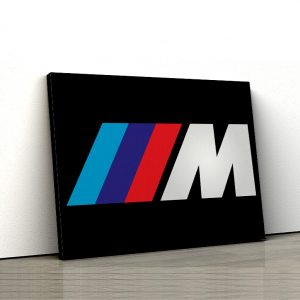 1 tablou canvas Logo BMW M