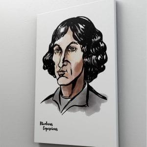 1 tablou canvas Nicolaus Copernicus