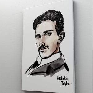 1 tablou canvas Nikola Tesla