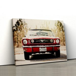 1 tablou canvas Old Ford Mustang convertible