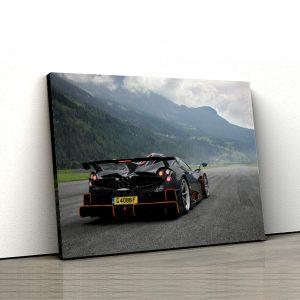1 tablou canvas Pagani Huayra Imola limited edition