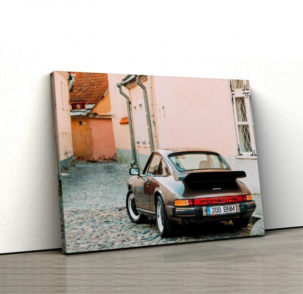 1 tablou canvas Porsche 930