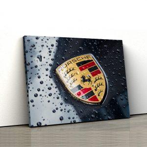 1 tablou canvas Porsche Logo