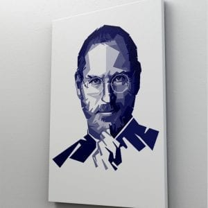 1 tablou canvas Steve Jobs
