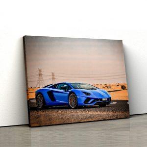 1 tablou canvas The Lamborghini Aventador S