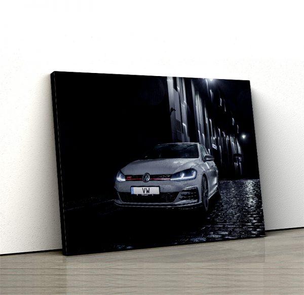 1 tablou canvas VW Mk7 Golf GTI TCR