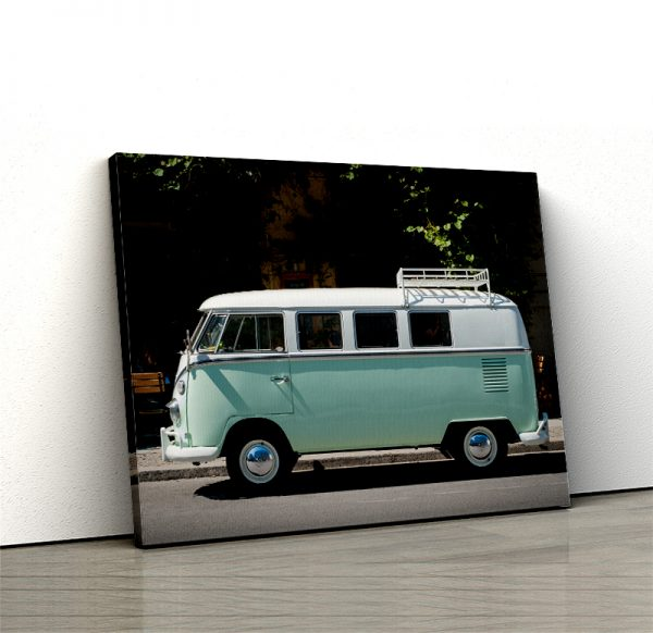 1 tablou canvas VW T1 BULLI