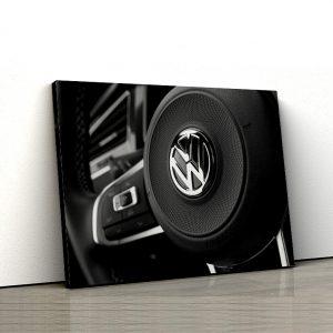 1 tablou canvas Volan de Volkswagen Tiguan 4x4 R Line