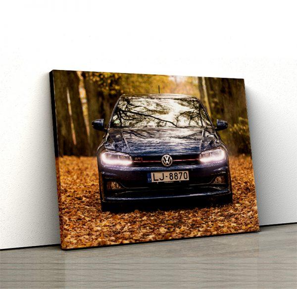 1 tablou canvas Volkswagen Polo GTI