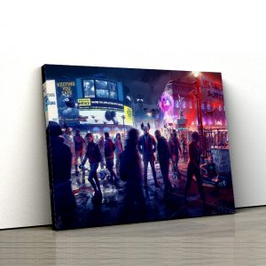 1 tablou canvas Watch Dogs