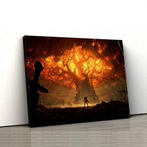 1 tablou canvas WoW Battle for Azeroth